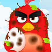 Игра Игра Angry birds: Ред спасает яйцо