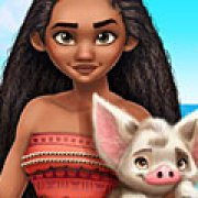 Игра Игра Моана принцесса Полинезии