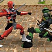 Игра Игра Могучие рейнджеры против черепашек ниндзя 2.2