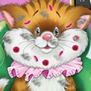 Игра Игра Уход за больным котом