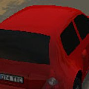 Игра Игра Гонки красной машины 3Д