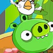 Игра Игра Плохие свиньи ловушка для птиц