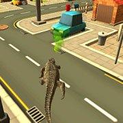 Игра Игра Симулятор Диких Животных в Городе