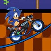Игра Игра Экстремальная езда Супер Соника