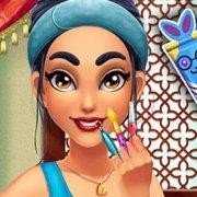 Игра Игра Жасмин: уход за лицом