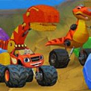 Игра Игра Вспыш скорость в долине динозавров