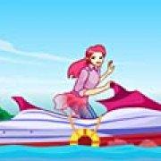 Игра Игра Развлечение Барби на квадроцикле