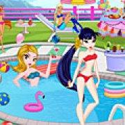 Игра Игра Винкс: вечеринка у бассейна