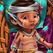 Игра Игра Лечить малышку Моану