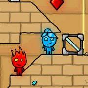 Игра Игра Огонь и Вода храм света на планшет