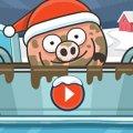 Игра Игра Свинка в луже 3