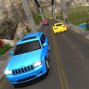 Игра Игра Джип Прадо в Горах 3Д