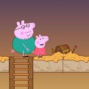 Игра Игра Свинка Пеппа на двоих: охота на египетские сокровища