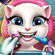 Игра Игра Анжела лечит зубы