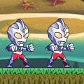 Игра Игра Ультрамен против зомби