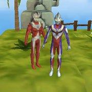 Игра Игра 3Д на двоих: Ультрамен