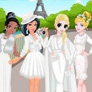 Игра Игра Принцессы Диснея: ужин в белом