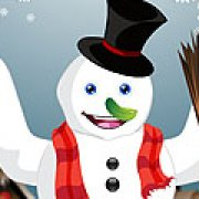 Игра Игра Одень Снеговика