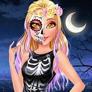 Игра Игра Мой Хэллоуин макияж