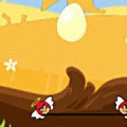 Игра Игра Angry birds: спасти яйца