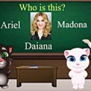 Игра Игра Том и Анжела школьный тест