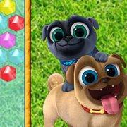 Игра Игра Дружные мопсы стрелок пузырями