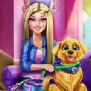 Игра Игра Барби дрессирует щенка