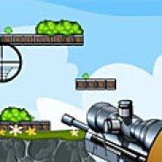 Игра Игра Стрельба в зеленых свинок