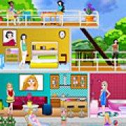 Игра Игра Принцессы Диснея: современный кукольный домик