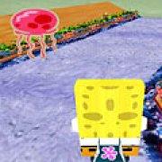 Игра Игра Губка Боб на велосипеде 3Д