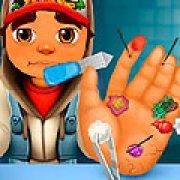 Игра Игра Сабвей серф лечить руки