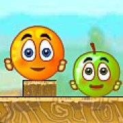 Игра Игра Спаси апельсин новые уровни