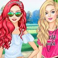 Игра Игра Пинтерест дивы: Барби против Ариэль и Золушки