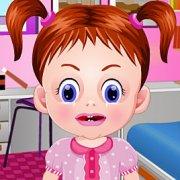 Игра Игра Девочка Эмма лечит нос в больнице / Baby Emma Nose Doctor