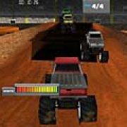 Игра Игра Водитель монстра-грузовика 3Д