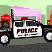 Игра Игра Полицейский грузовик