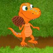 Игра Игра Поезд динозавров шишки