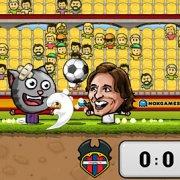 Игра Игра Кукольный Футбол: Испанская Лига