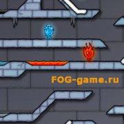 Игра Игра Огонь и Вода 3 в Ледяном Храме