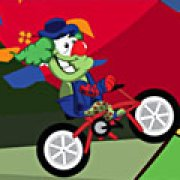 Игра Игра Цирковой клоун на велосипеде