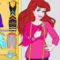 Игра Игра Ариэль: дизайн комнаты моды