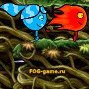 Игра Игра Огонь и Вода приключения в волшебном лесу 2