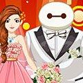 Игра Игра Город героев: свадьба Беймакса