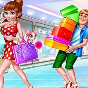 Игра Игра Холодное сердце: Анна на распродаже
