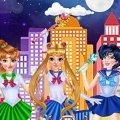 Игра Игра Принцессы Диснея: Косплей Сейлор Мун