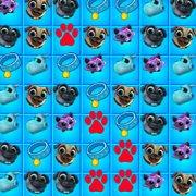 Игра Игра Дружные мопсы три в ряд