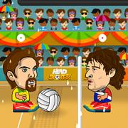 Игра Игра Игры Головами: Волейбол