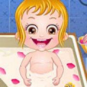 Игра Игра Малышка Хейзел: королевская ванна