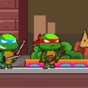 Игра Игра Черепашки ниндзя пицца войны