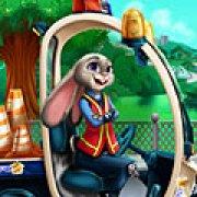 Игра Игра Зверополис: ремонт машины Джуди Хопс